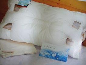 ヒノキの炭枕 パミアのブレスピロー